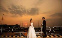 文艺风#波西米亚旅拍婚纱摄影# 爱情码头