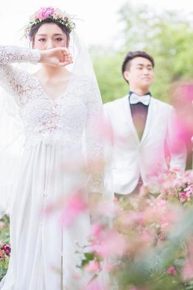 【唯美韩式婚纱照】花影
