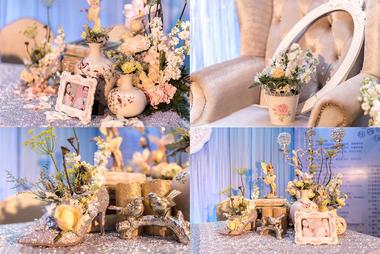 【TBO 婚礼策划】爱情阿尔法 小清新婚礼风