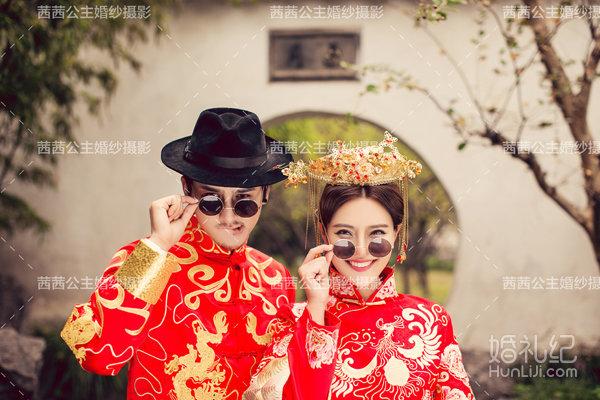anglebaby古装同款婚纱照,婚礼摄影,婚礼纪 hunliji.