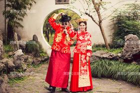 Anglebaby古装同款婚纱照