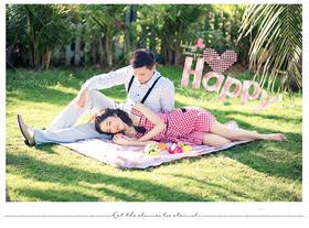 PIAOVISION<李先生>夫妇-三亚野餐风婚纱照