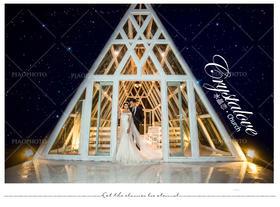 PIAOVISION<郑先生>夫妇-三亚水晶教堂 欧式婚纱照