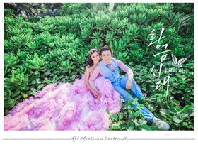PIAOVISION<黄女士>夫妇-三亚森林系婚纱照