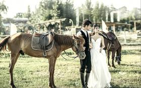 【马场婚纱照】每一张照片背后都有一个故事!