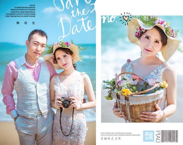 PIAOVISION<祝女士>夫妇-三亚天涯海角婚纱摄影