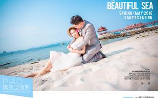 PIAOVISION<吕先生>夫妇-三亚蜈支洲岛韩式婚纱照