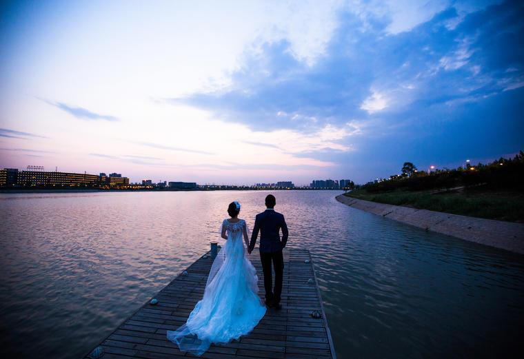 【时尚婚纱照】静静的用心记录我们的爱情