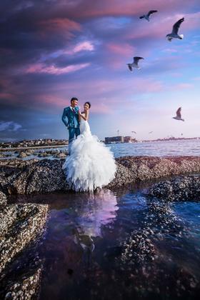 全球旅拍海景婚纱照|爱在永恒