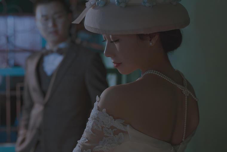 寻光记婚纱客片欣赏 一样的复古