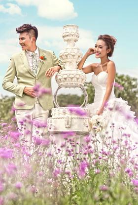 全球纪实花海旅拍婚纱照|心的触动