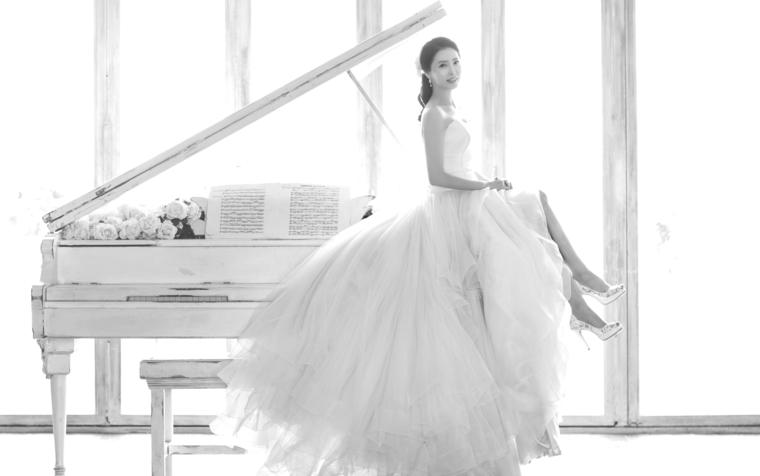韩式婚纱照 客片1