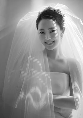 LOVE黑白婚纱照