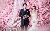 韩式婚纱照《花墙》系列
