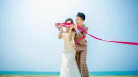 厦门琥珀印象客片----海边婚纱照