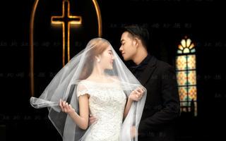 【欧式婚纱照】教堂誓言