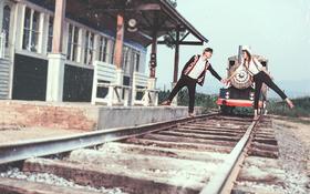 【文艺婚纱照】幸福小火车