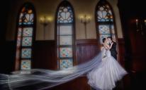 韩式复古婚纱照