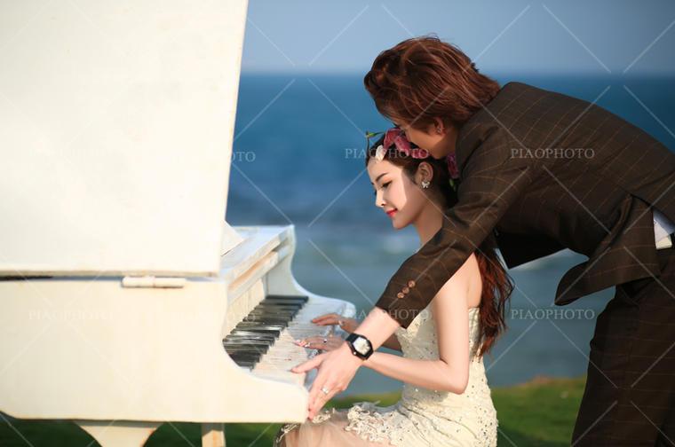 PIAOVISION<胡先生>夫妇-三亚水晶教堂 唯美婚纱照