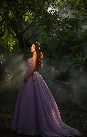 厦门琥珀印象 森系风婚纱客片-----植物园集合