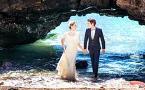 【海景婚纱照】有的人与人之间的相遇就像是流星,就像我和你
