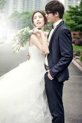 小清新婚纱照欣赏
