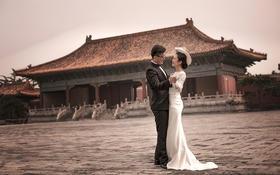 太庙婚纱摄影