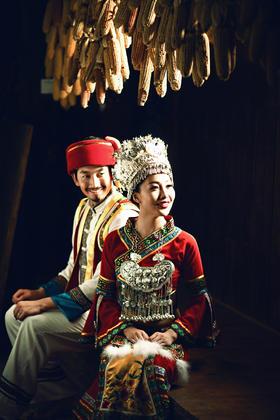 文艺民族风婚纱照-丽江北京两地联拍多元风格