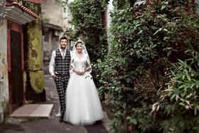 清凉海岛风-厦门鼓浪屿北京两地联拍 清新婚纱照