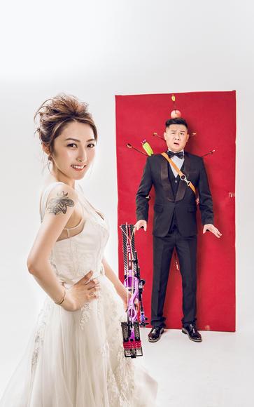 丘比特之箭——时尚婚纱照