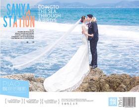 PIAOVISION<李女士>夫妇-三亚礁石主题婚纱照