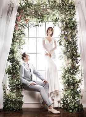 「玫瑰星座」 素雅缦纱清新婚纱照系列