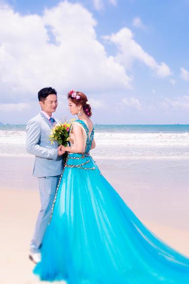 「李汉耿&虎恩利」清新唯美婚纱照