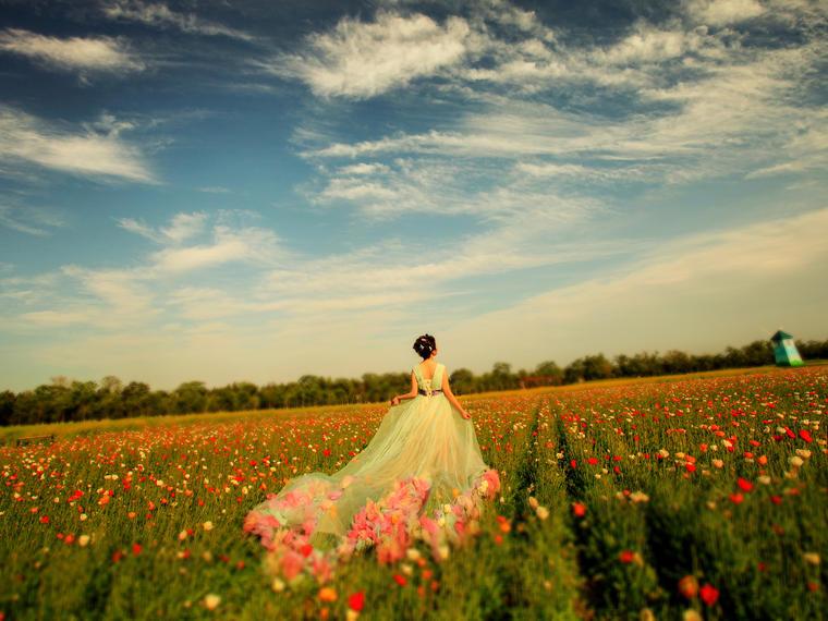 情驻伊甸园——清新婚纱照