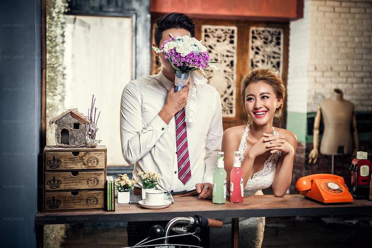 「玫瑰星座」 温馨韩式婚纱照系列