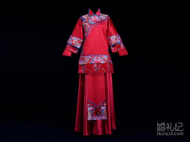 手工刺绣 · 小满 - 劳伦思中式婚服租赁