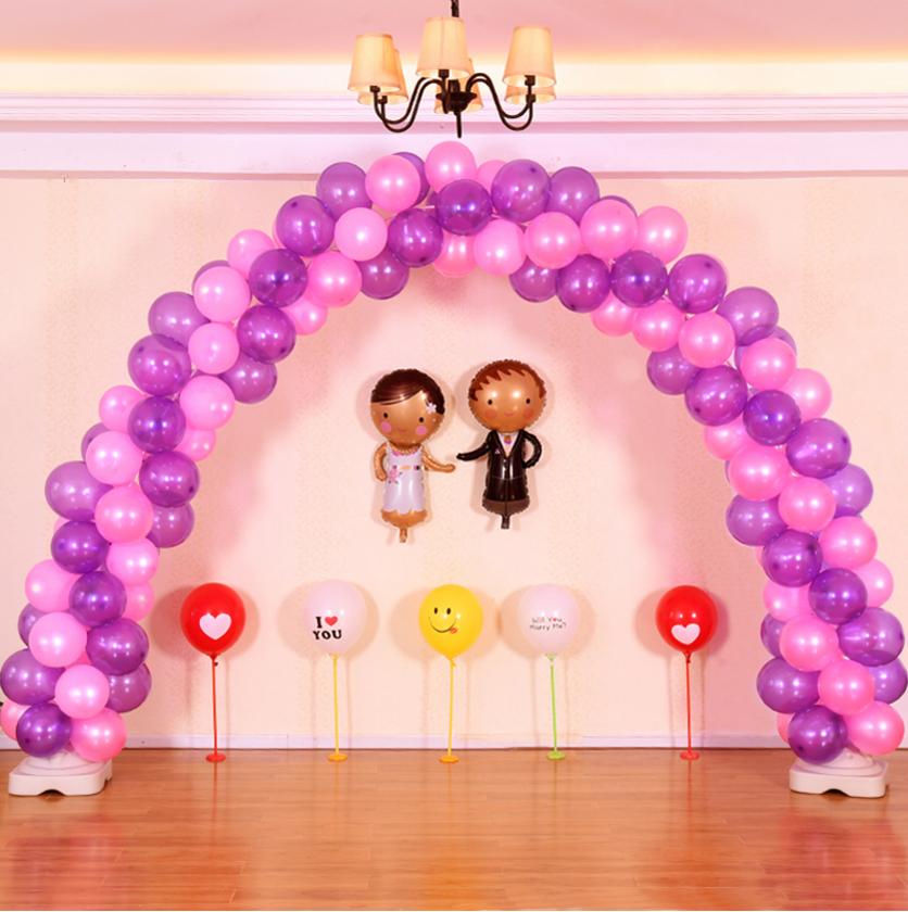气球拱门架子 结婚用品 婚庆布置气球拱门 开业活动装饰