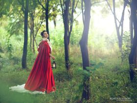 美兰湖 清新唯美系婚纱照