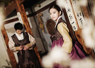 个性韩式婚纱照