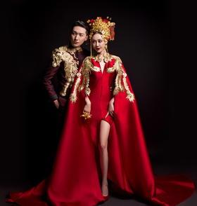 最美中国风婚纱摄影-笑醉红颜【2046摄影】
