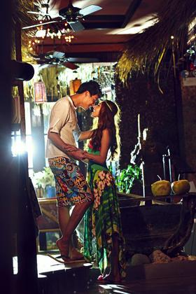椰林三亚婚纱照