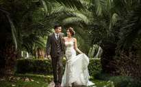 纪实清新风格婚纱照——朝阳公园外拍