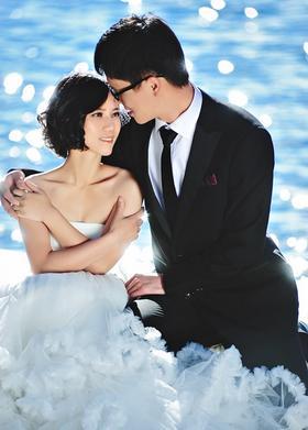 【韩式婚纱照】湖心梦