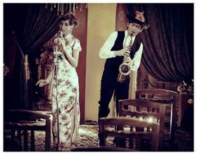 七月遇见--旧上海婚纱照