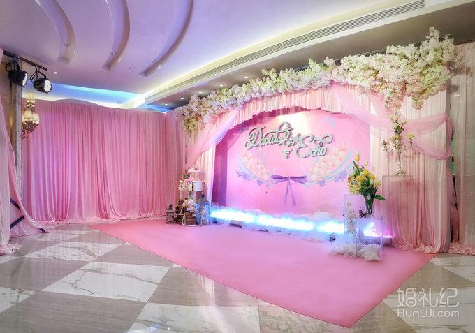 粉色系婚礼-繁花似你
