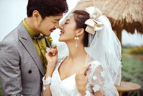 森系婚纱照【缪斯影像】爱的氛围