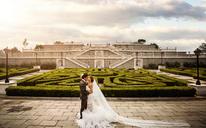 「玫瑰星座」 世界公园主题系列 欧式婚纱照