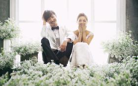 清新婚纱照系列【★启明星摄影】邂逅香颂女王上