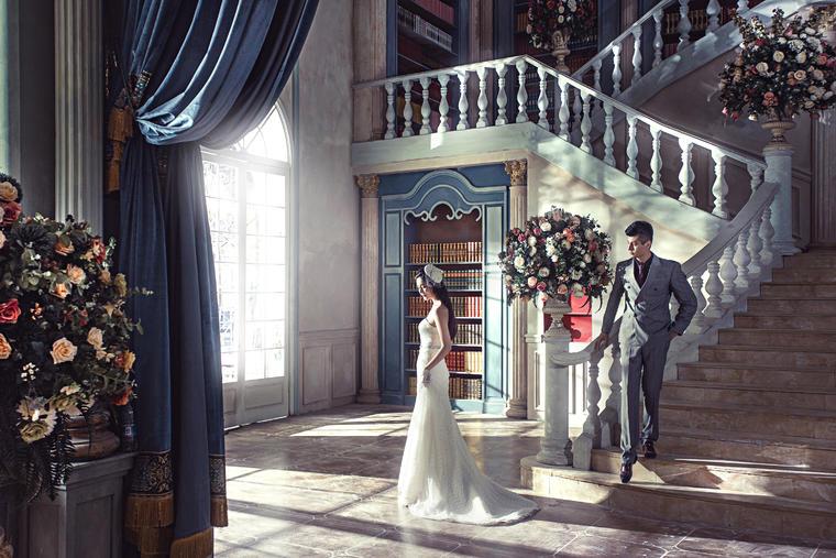 【白纱糖】--经典欧式婚纱照 爱诺庄园国际影城(04)