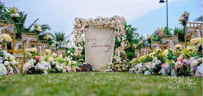 户外《一片晴空》田园主题婚礼